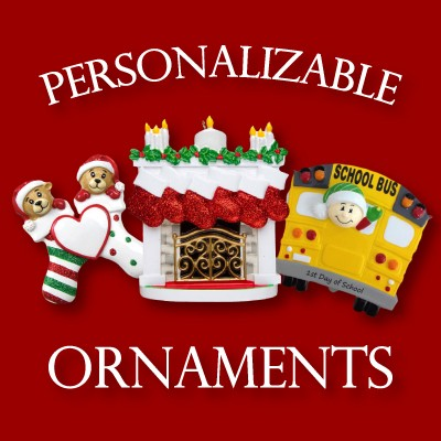 Personalizable Ornaments