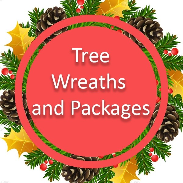 Trees, Wreaths & Packages