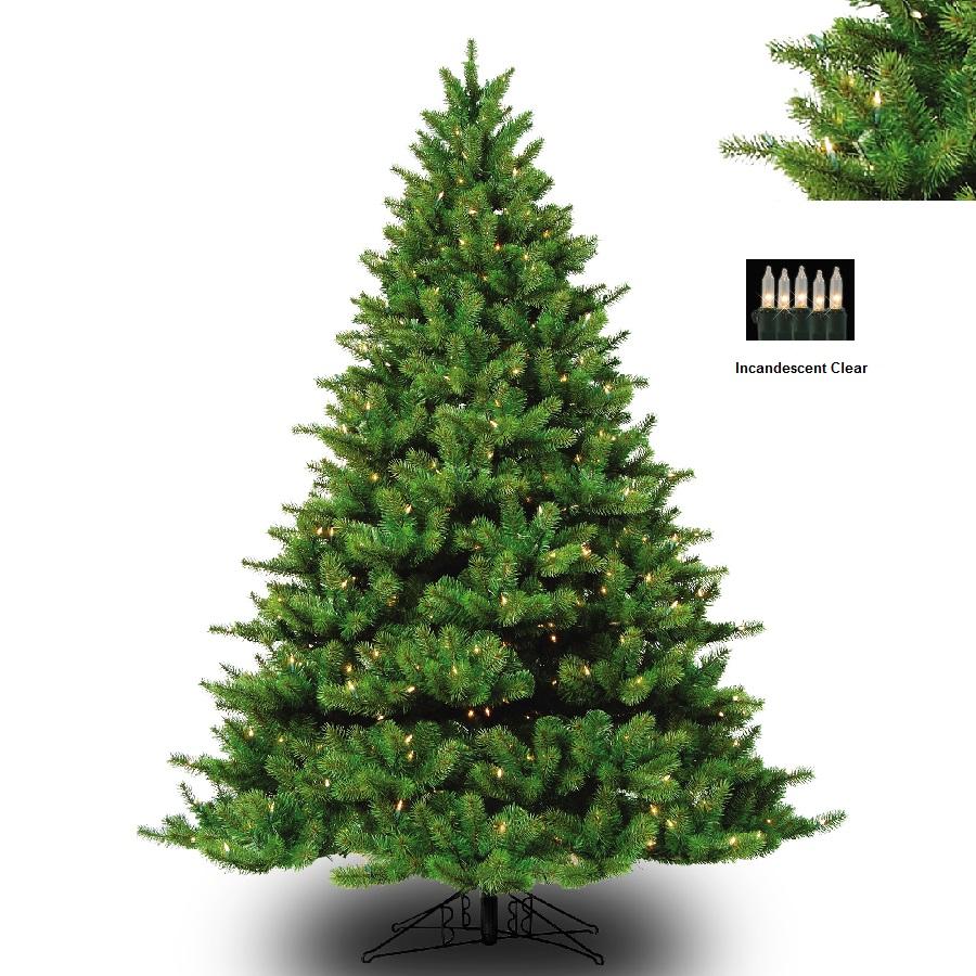 barcana 8122710001 10 appalachian fir deluxe with clear lights - Barcana Christmas Trees