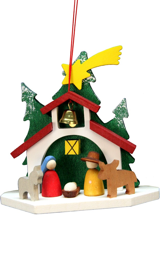 Chapel Holy Family Ornament