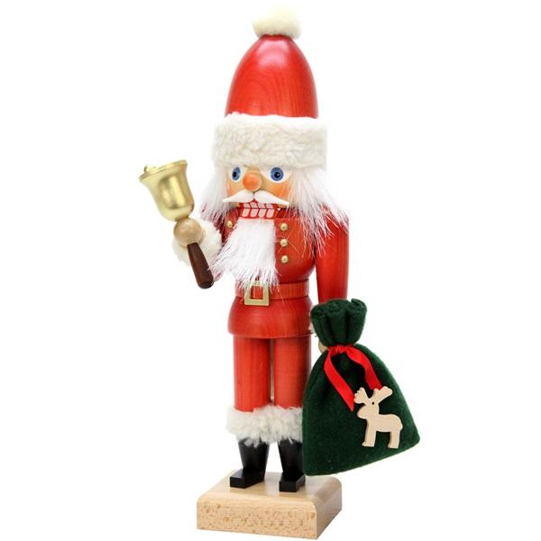 Nutcracker Santa With Bell