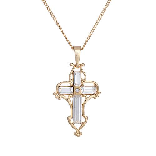 Faith 22k Gold Necklace