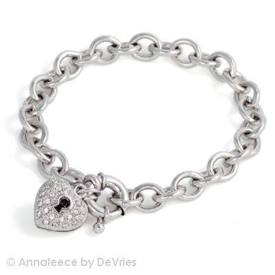 Rhodium Admiration Bracelet