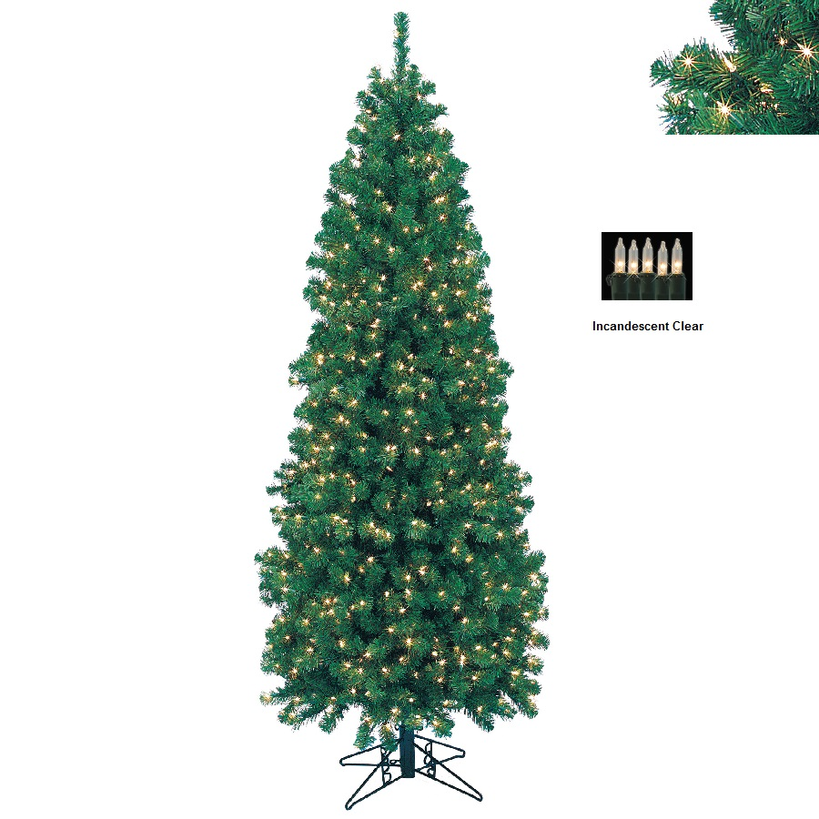 BARCANA 8139409001 9' Northern Cypress with Clear Lights