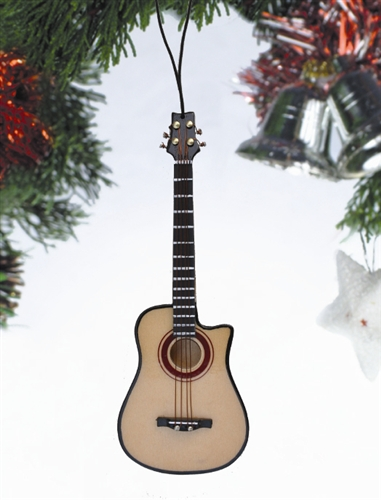Bass Acoustic Guitar Hanging Ornament