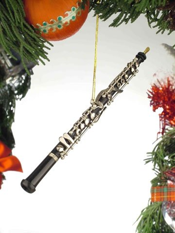 Clarinet Christmas Ornament