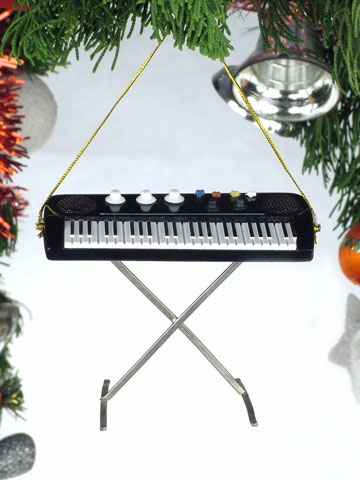 Electric Keyboard Hanging Ornament