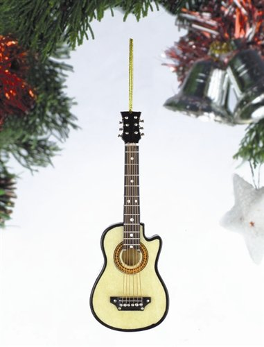 String Guitar with Cutaway Hanging Ornament