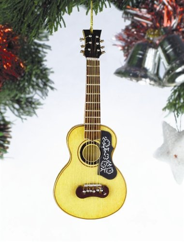 Spanish Guitar Hanging Ornament