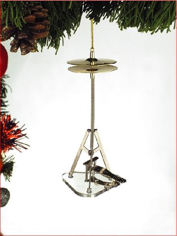 High Hat Cymbol Hanging Ornament