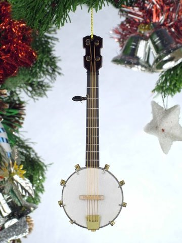 Banjo Hanging Ornament
