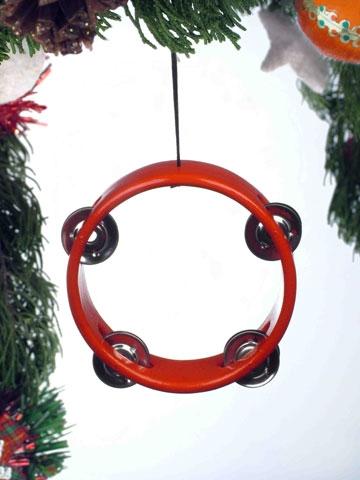 Tambourine Hanging Ornament