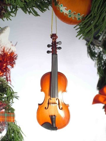 Classic Violin Hanging Ornament