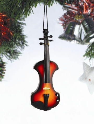 Modern Electric Violin Hanging Ornament