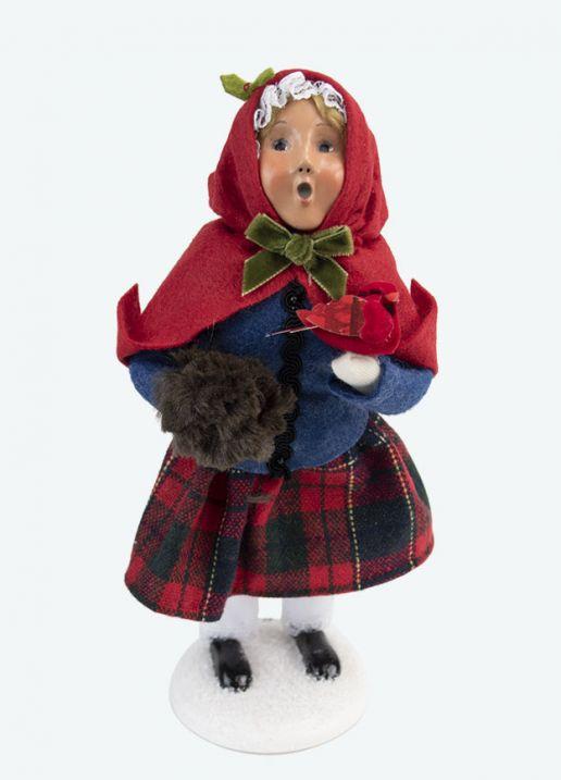 Colonial Cardinal Girl