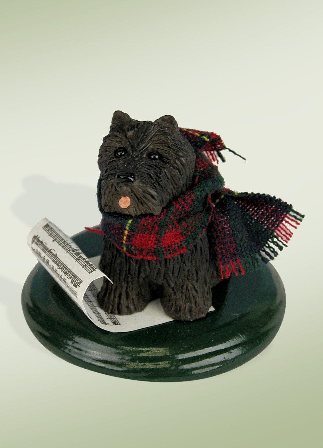 Scottish Terrier Caroling Dog