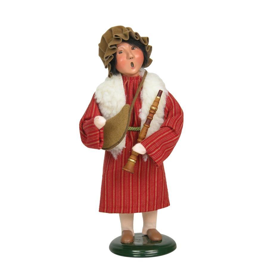 24 Musical Lighted Caroler Family Christmas Table Top: BYERS' CHOICE LTD 752 Shepherd Boy, 10