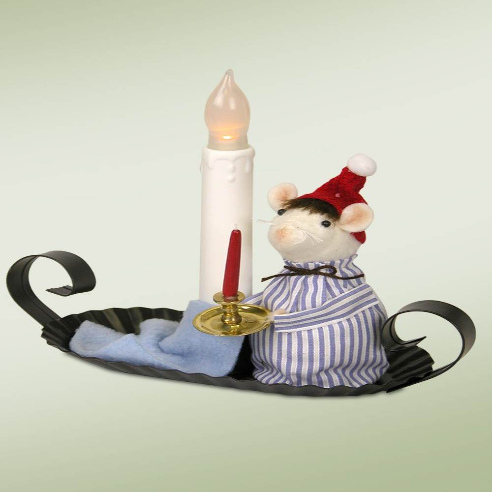 Jbigg S Little Pieces Byers Choice Carolers: BYERS' CHOICE LTD MOU7 Mouse In Nightshirt