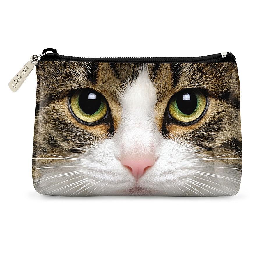 TABBY CAT POUCH
