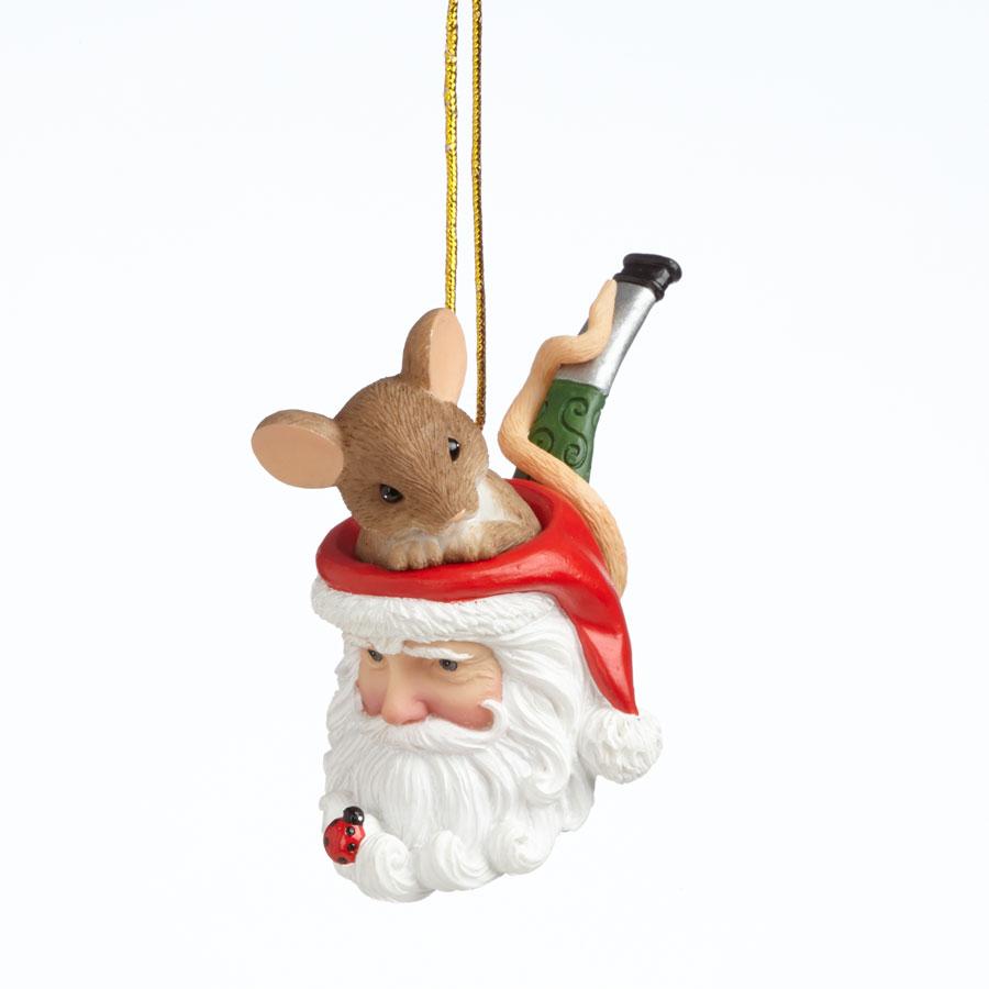 Ho Ho Holy Smoke Christmas is Here Hanging Ornament