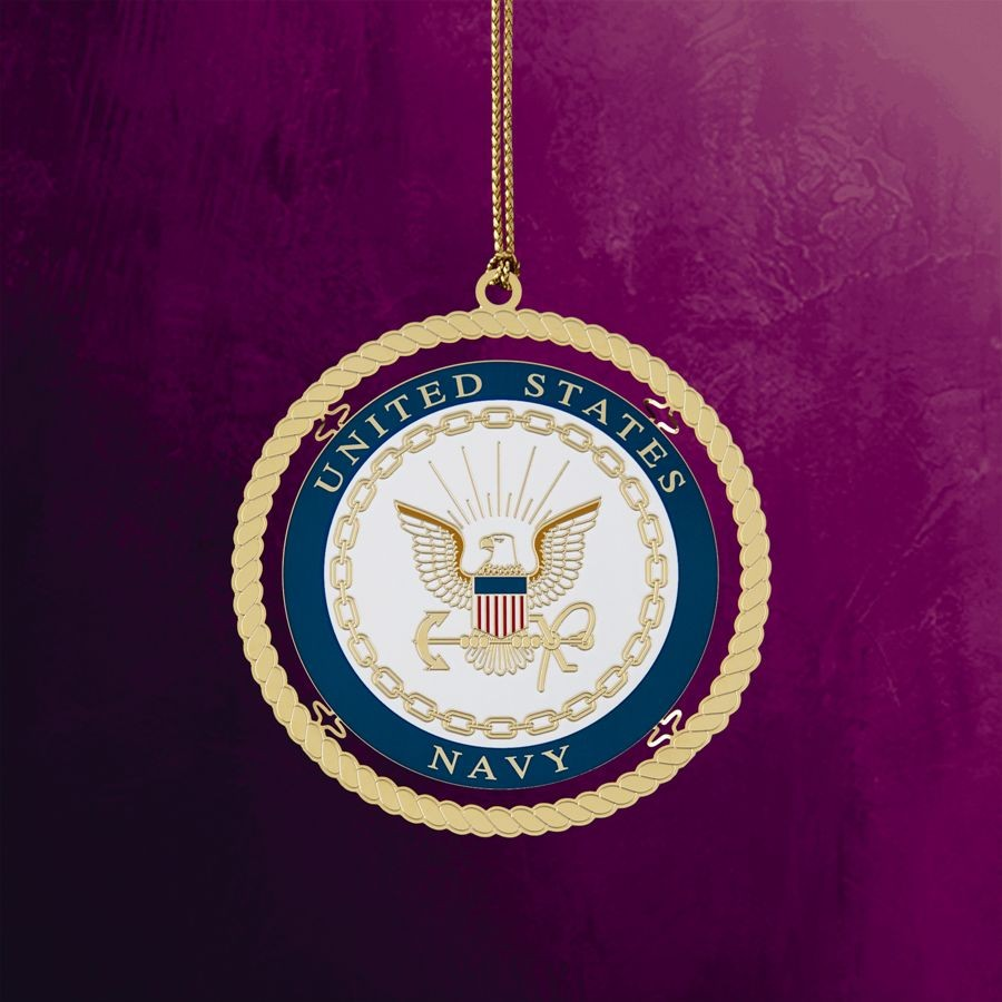United States Navy Hanging Ornament
