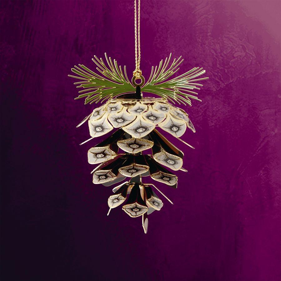 Sylvan Pine Cone Hanging Ornament