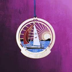 Sailing Serenity Hanging Ornament