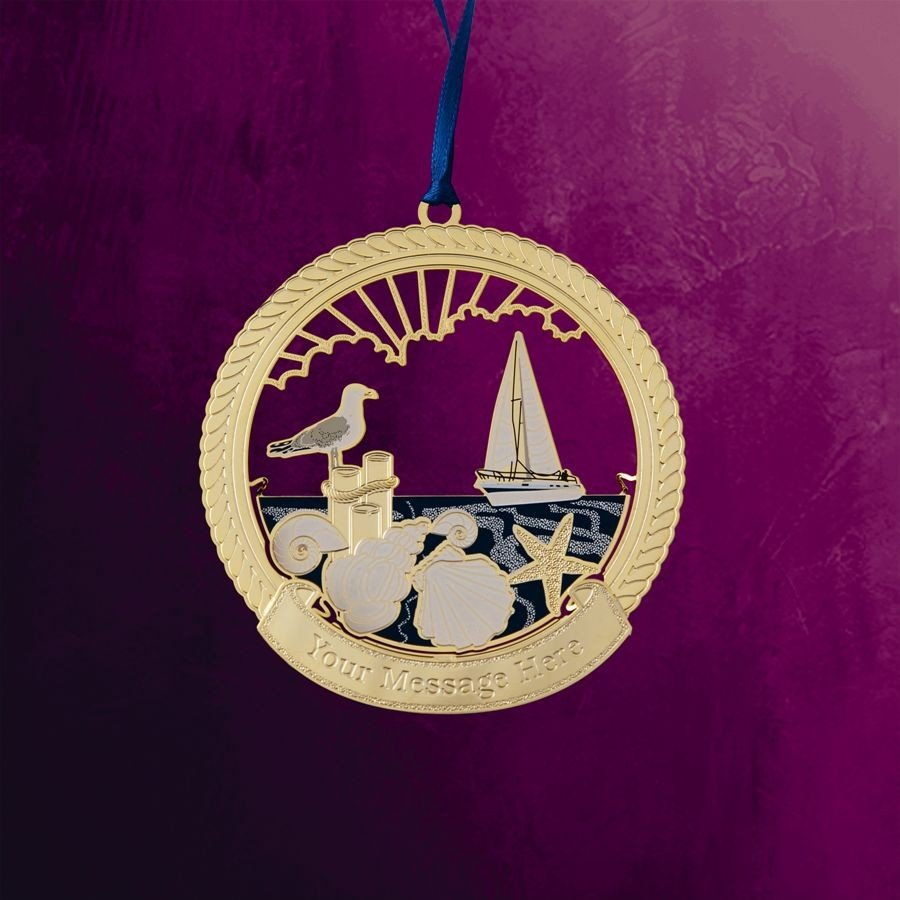 Harbor Pier Hanging Ornament