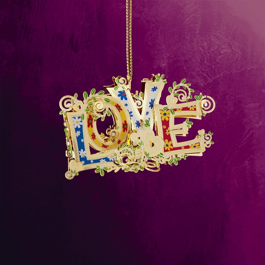 Love Hanging Ornament