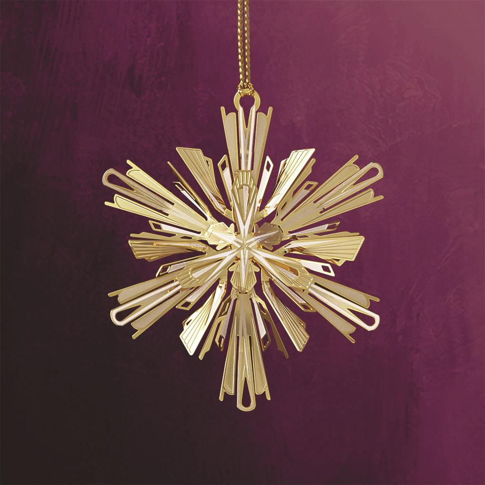 Crystalline Snowflake Ornament