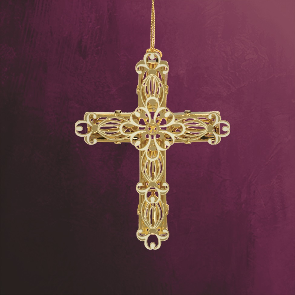 Decorative Cross Ornament