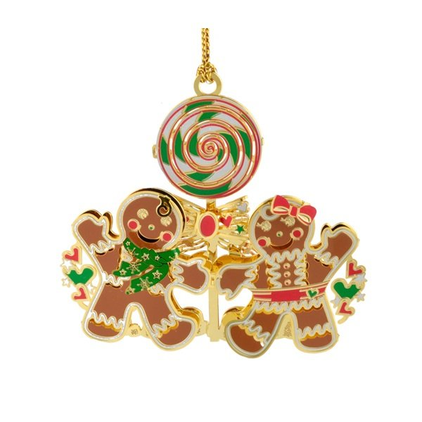Gingerbread Family Ornament