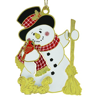 Jolly Snowman Ornament