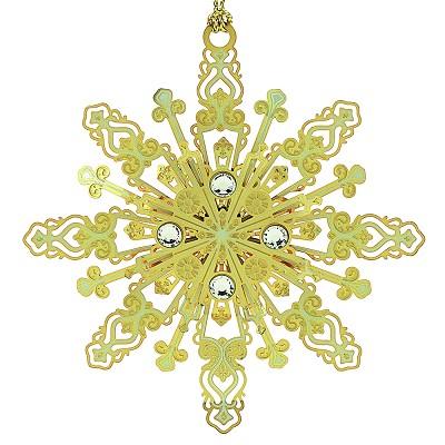 Radiant Snowflake Ornament