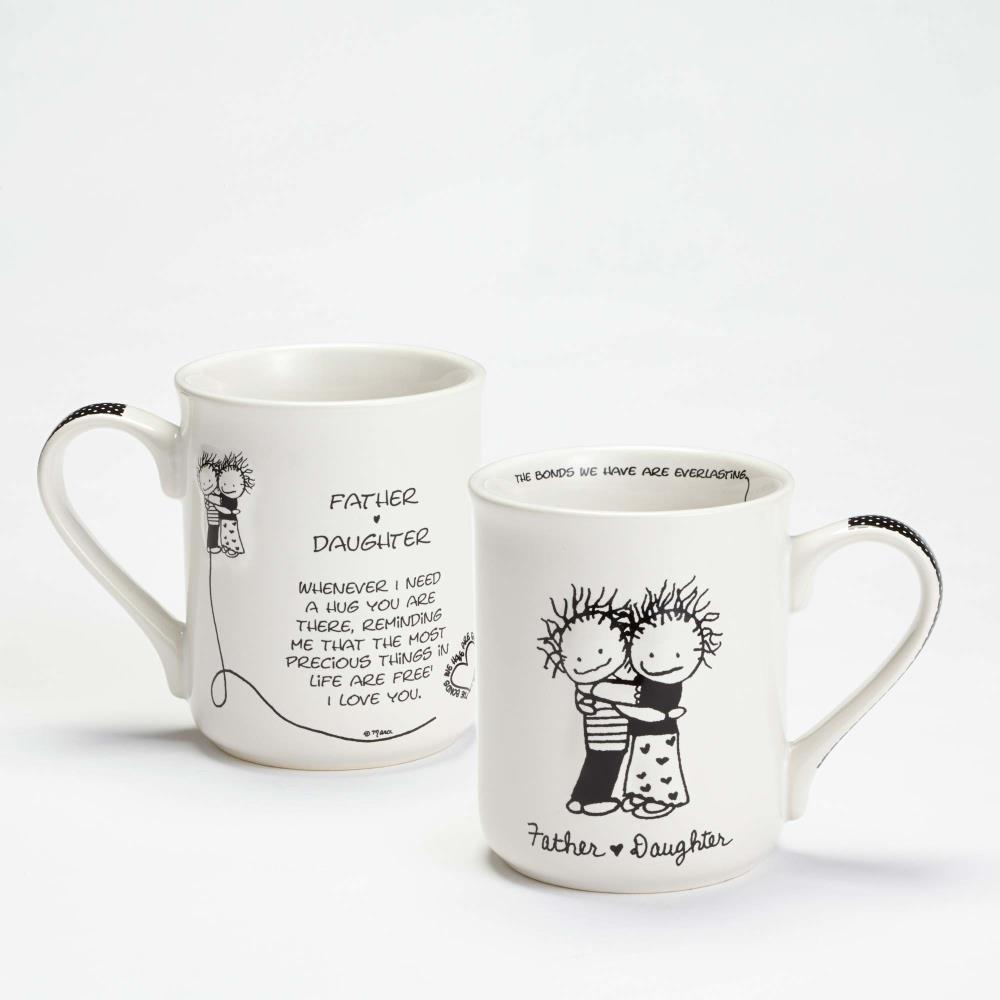 Father And Daughter Mug
