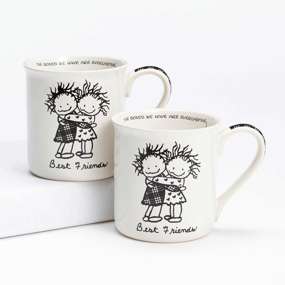 Best Friends Gift Set Mugs