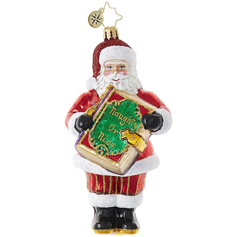 Christopher Radko 1018812 Christmas Checklist