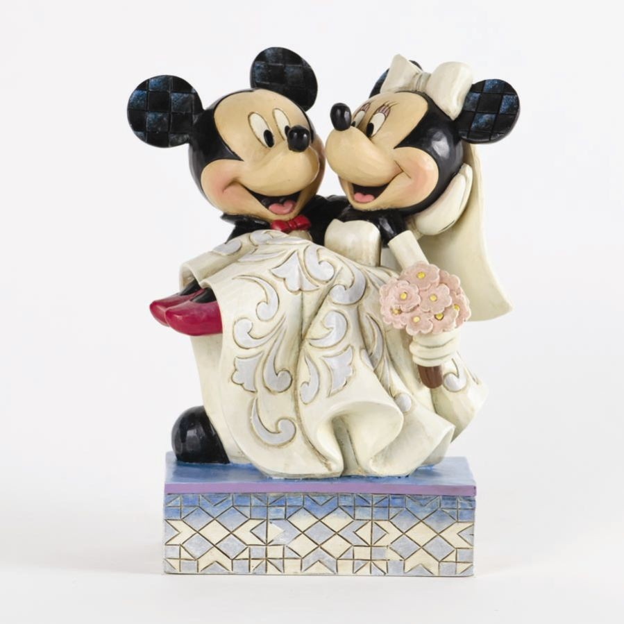 Disney Traditions 4033282 Congratulations Mickey And Minnie Mouse Wedding