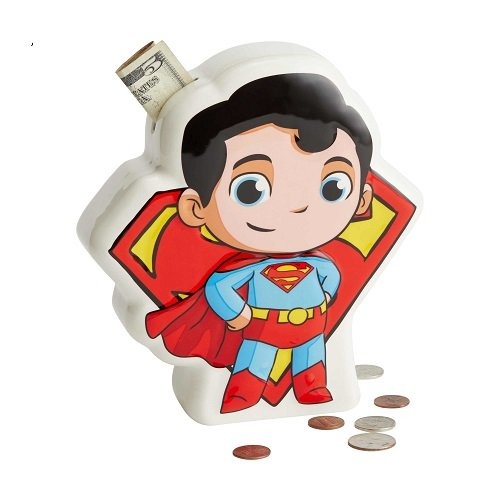 DC SuperFriends Superman Bank
