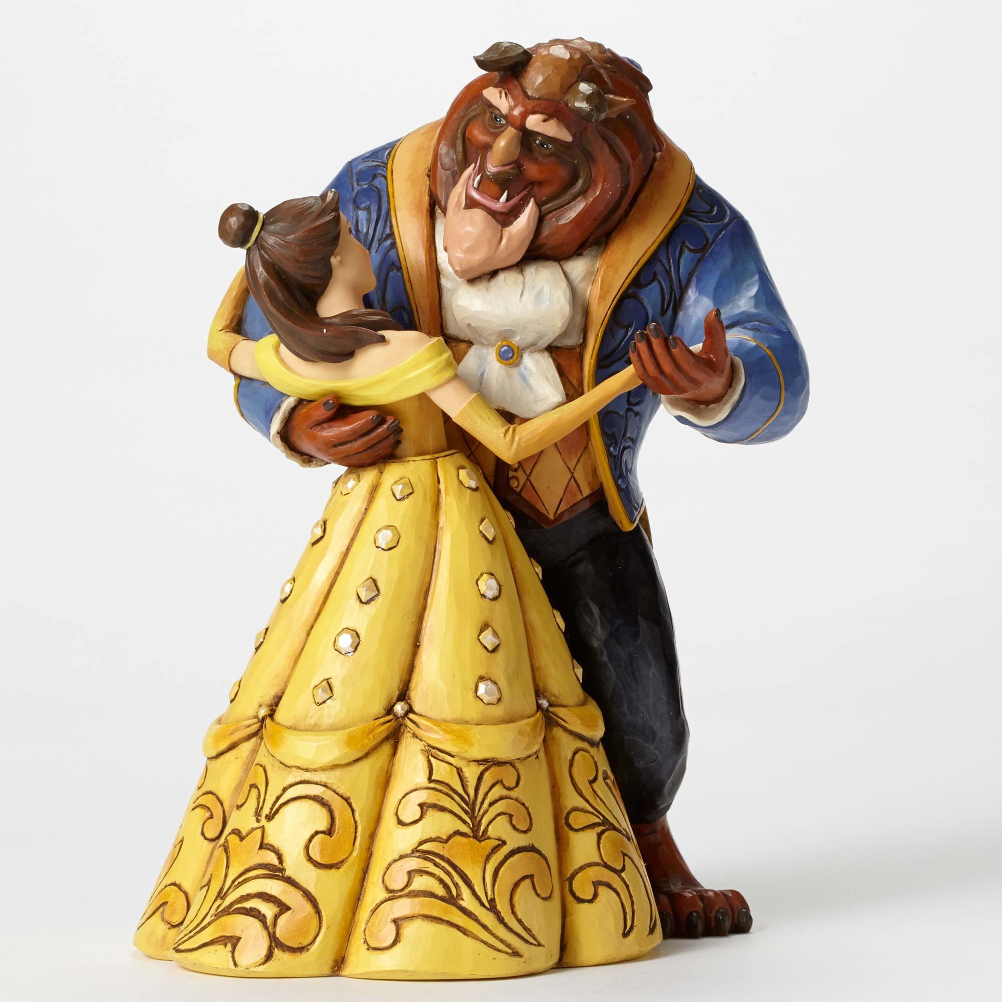 Disney Traditions 4049619 Belle And Beast Dancing Moonlight Waltz