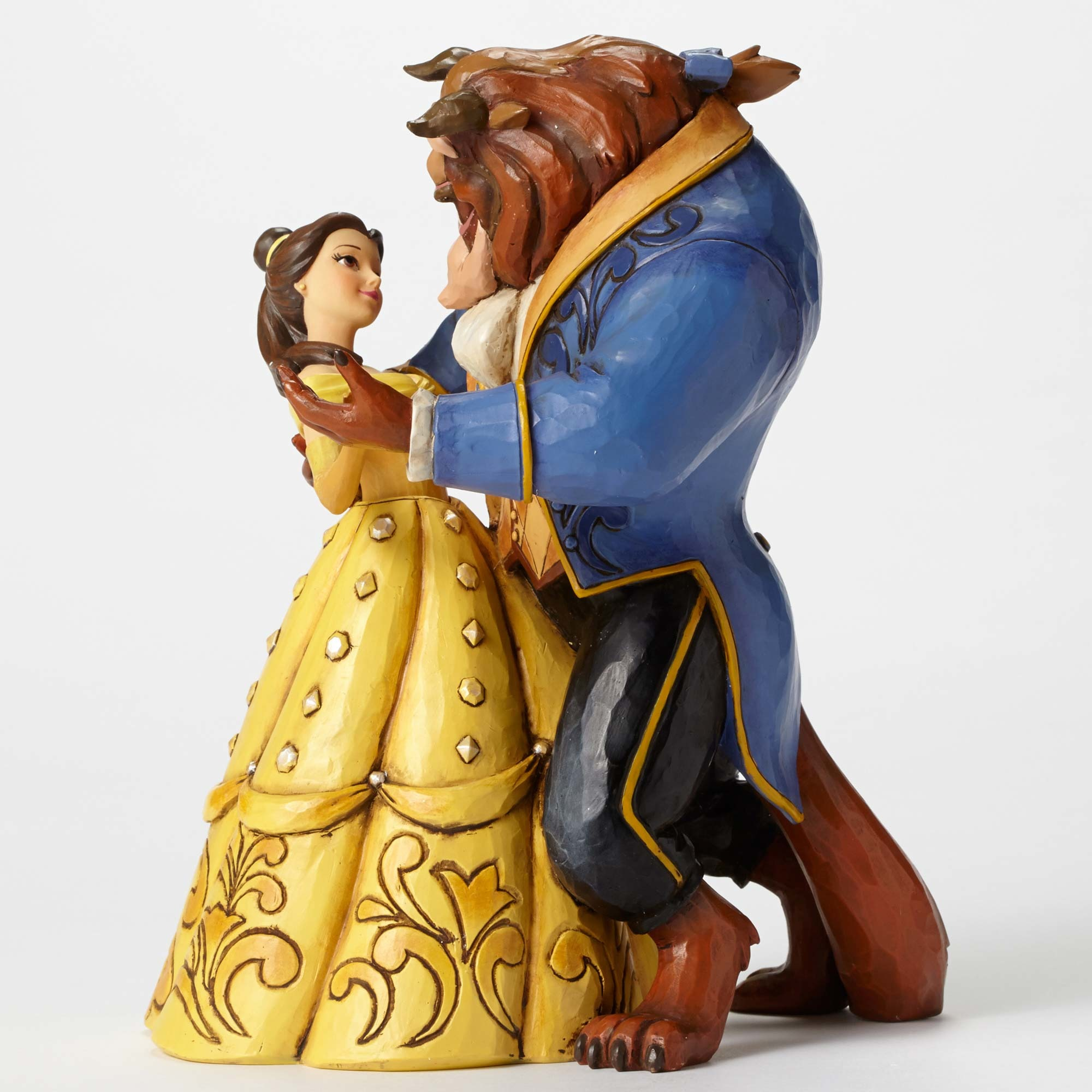 DISNEY TRADITIONS 4049619 Belle And Beast Dancing
