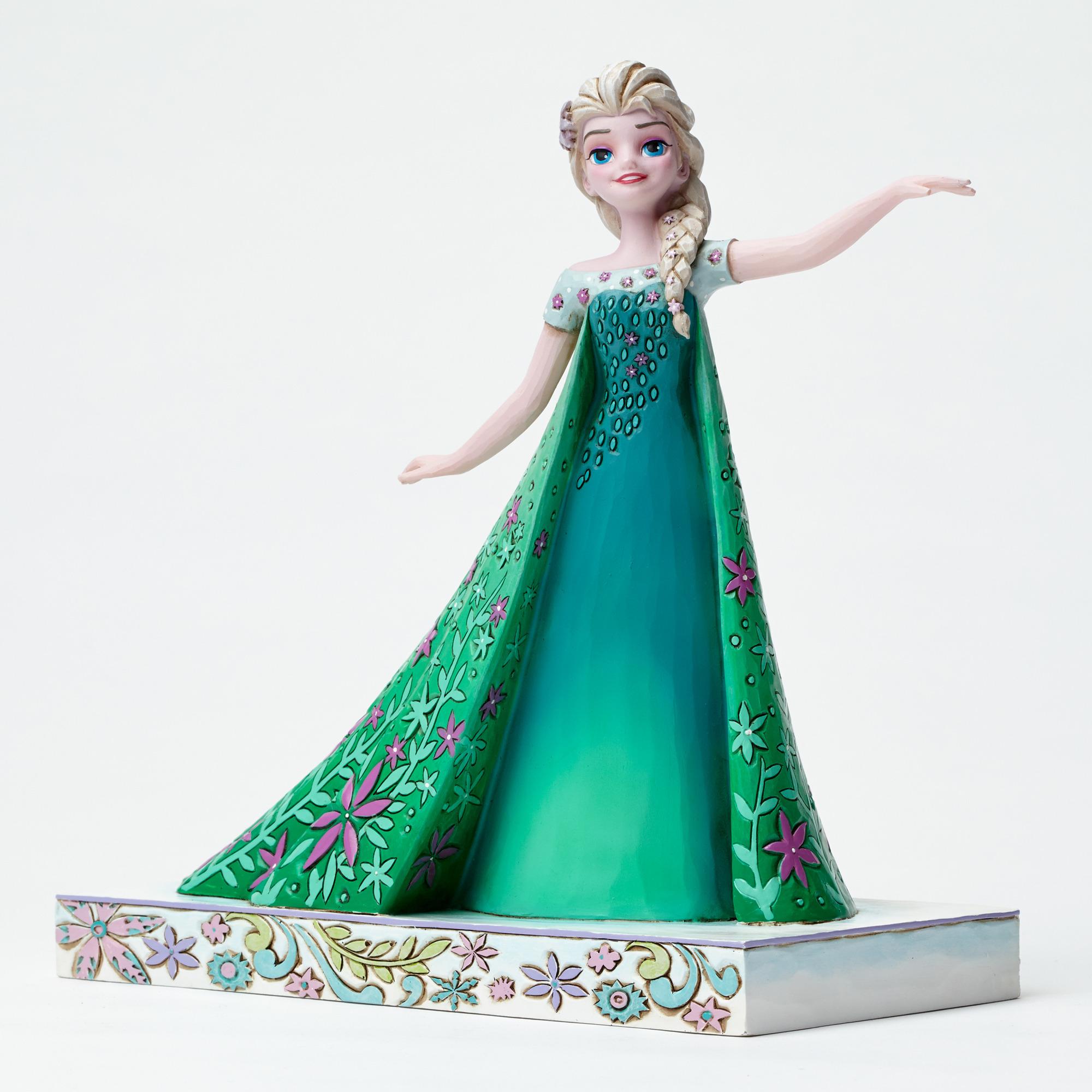 DISNEY TRADITIONS 4050881 Elsa From Frozen Fever