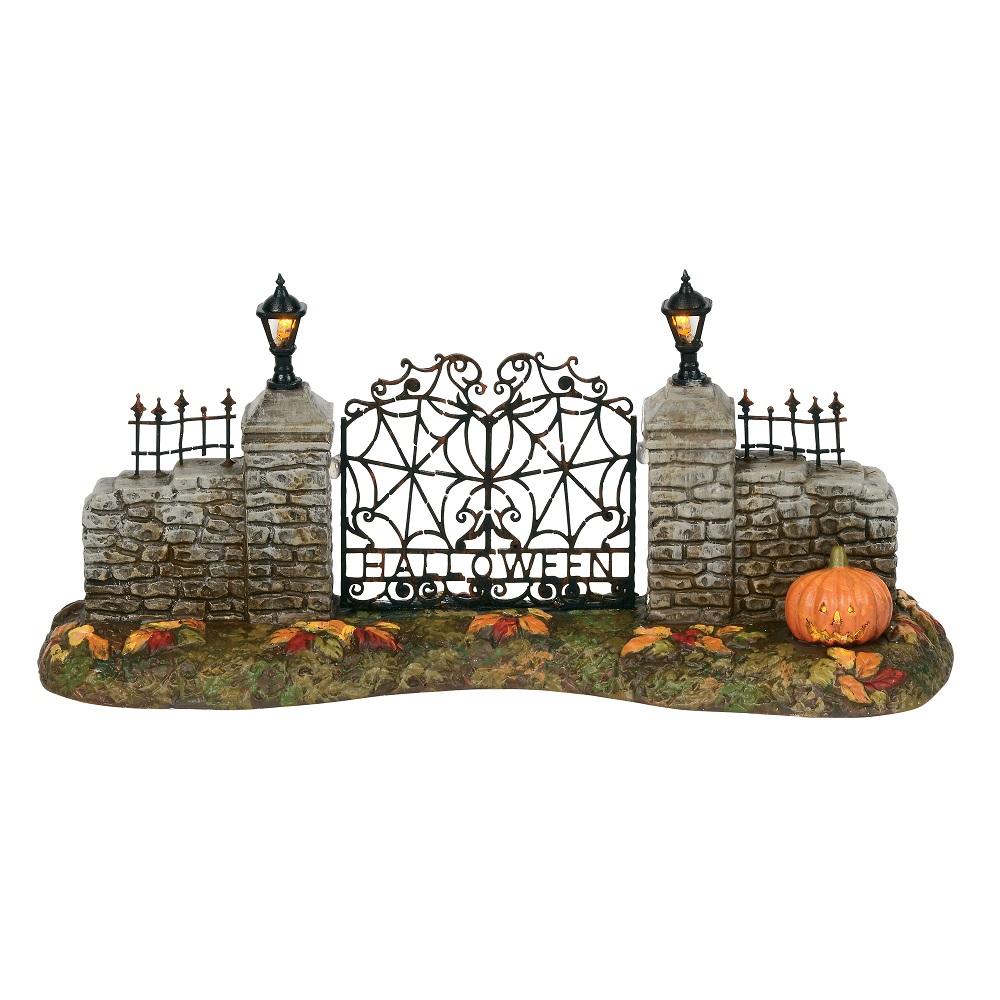 Department 56 6000665 Halloween Village Gate