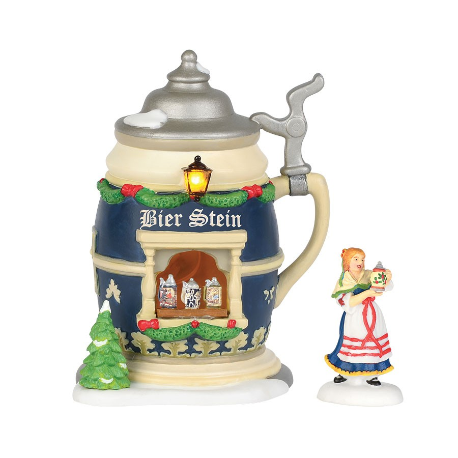 Christmas Market, The Bier Stein Booth - Set of 2