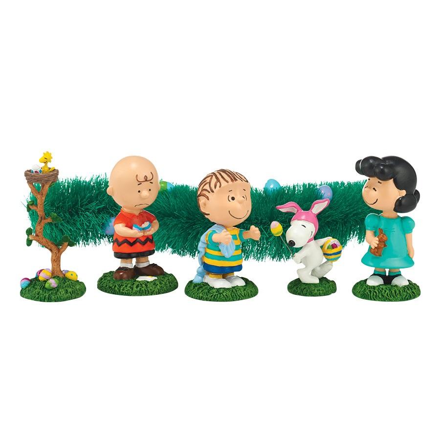 Peanuts Egg Hunt, Set of 6