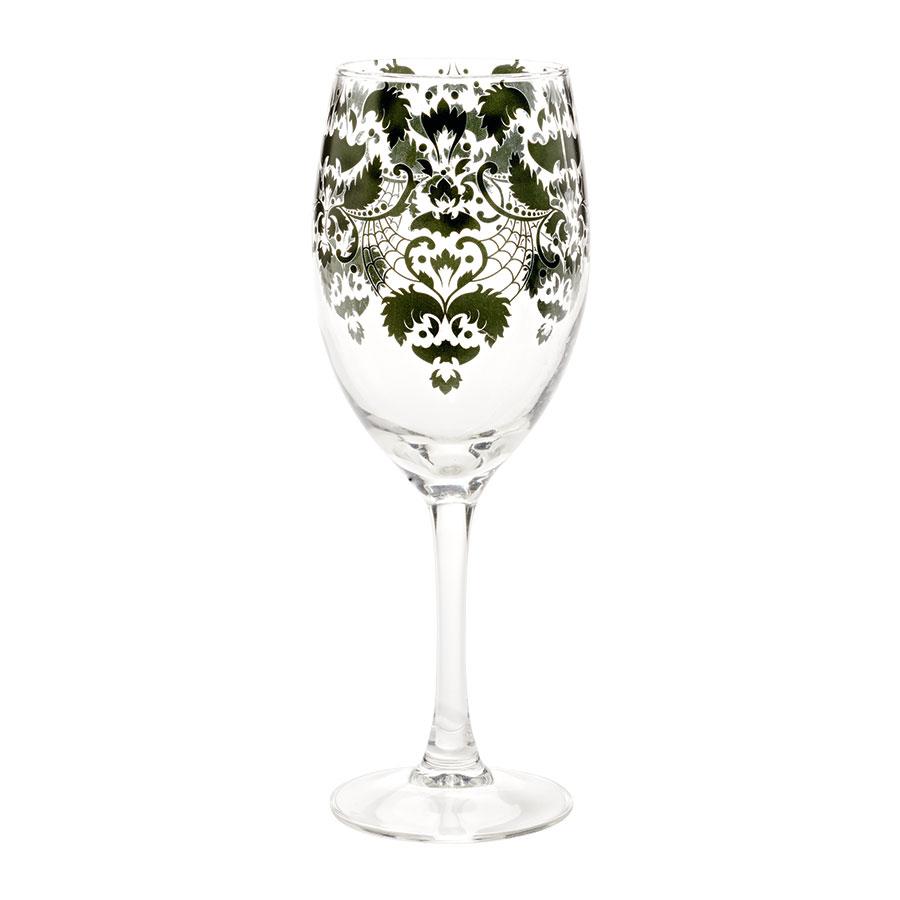 Spooky Wine Glass