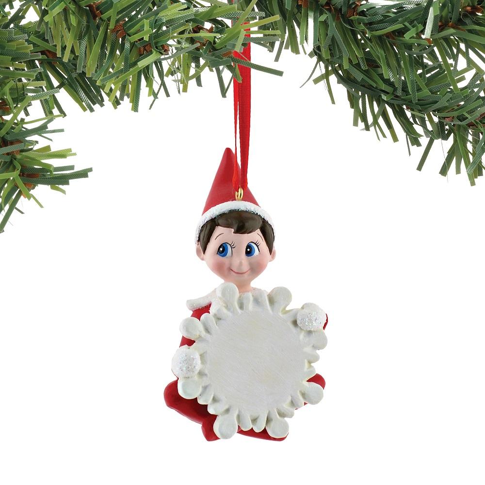 Snowflake Boy Elf Blank