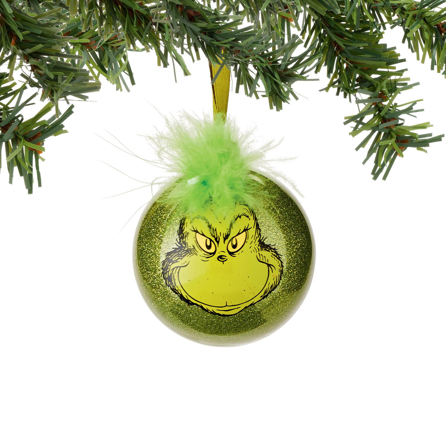 Grinch Selfie Ornament