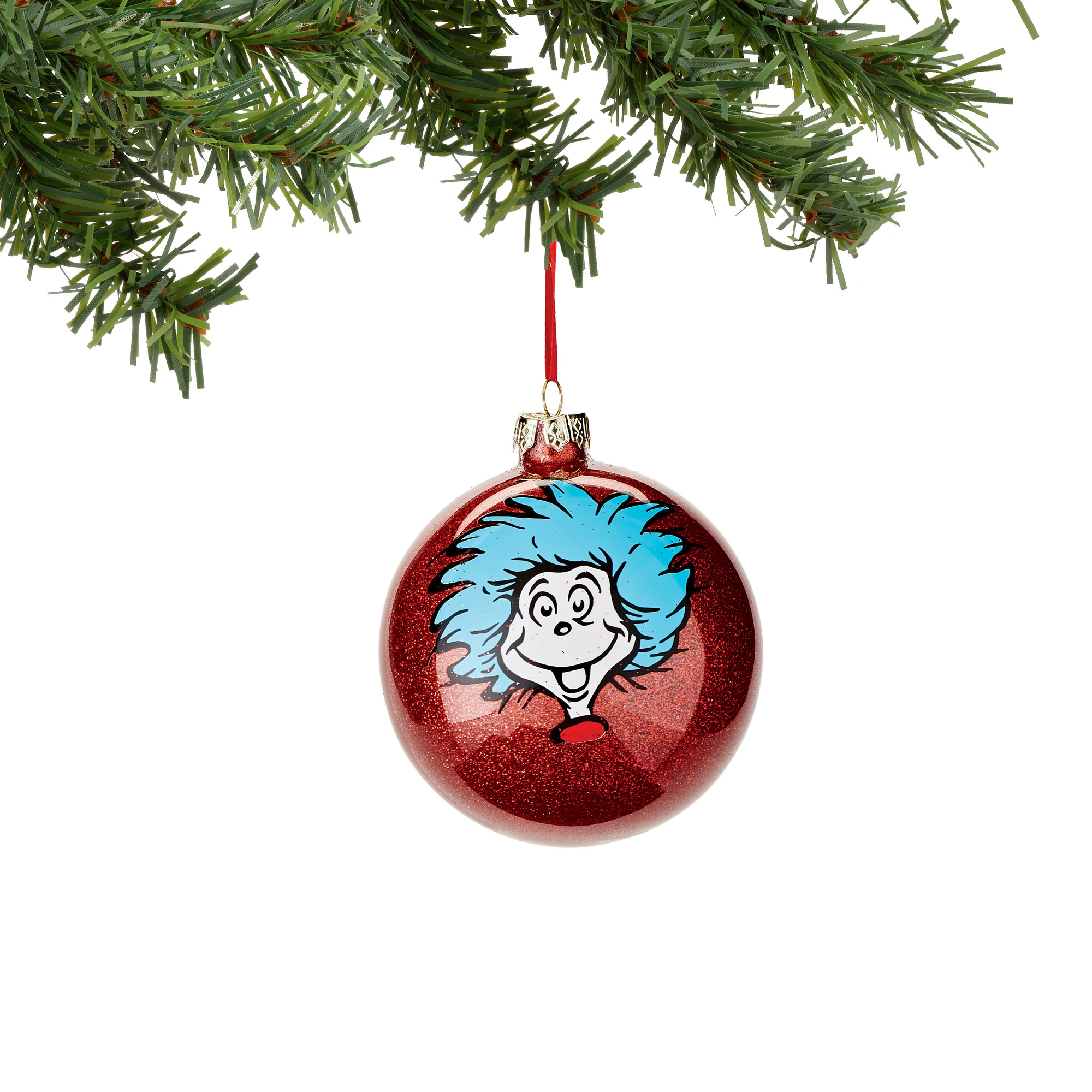 Thing 1 And Thing 2 Selfie Ornaments