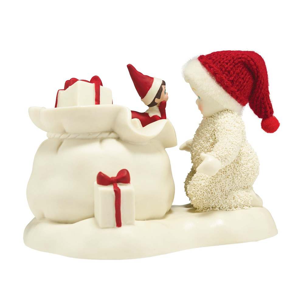 Elf On The Shelf Helps Santa